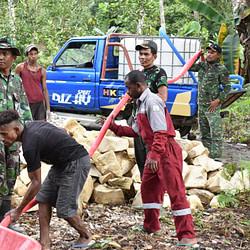 Terima kasih, Tentara Dong Sudah Mau Bangun Tong Punya Kampung