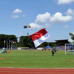 Yonif 1 Marinir Raih Juara Pertama Bola Voli Danpuspenerbal Cup