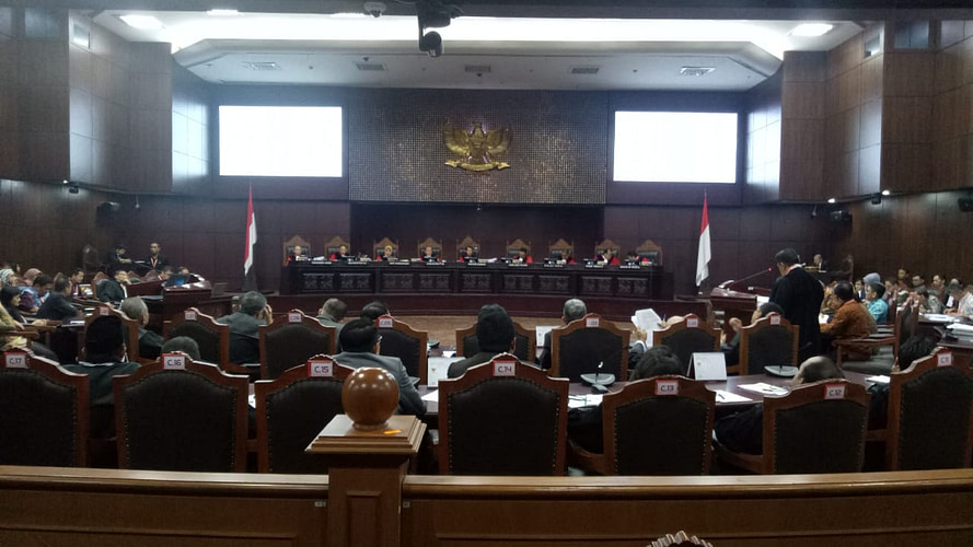 Hasil Sidang Putusan MK: Seluruh Permohonan Prabowo-Sandi Ditolak