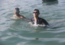 Tingkatkan Ketangkasan, Prajurit Menart 3 Marinir Laksanakan Renang Laut