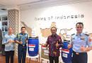 Serah Terima Virtual Bantuan Singapura Kepada Indonesia