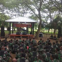 Exit Briefing Danbrigif 4 Mar/BS Kepada Seluruh Prajurit Petarung Harimau Sumatra