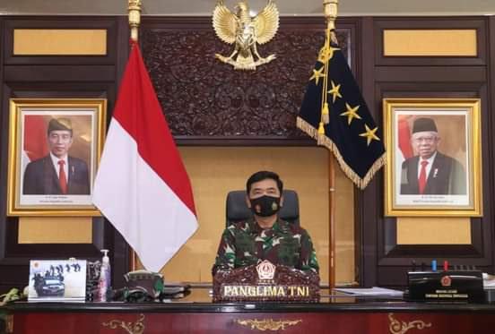Panglima TNI Perintahkan Babinsa, Babinpotmar dan Babinpotdirga Bantu Penegakan Disiplin Protokol Kesehatan
