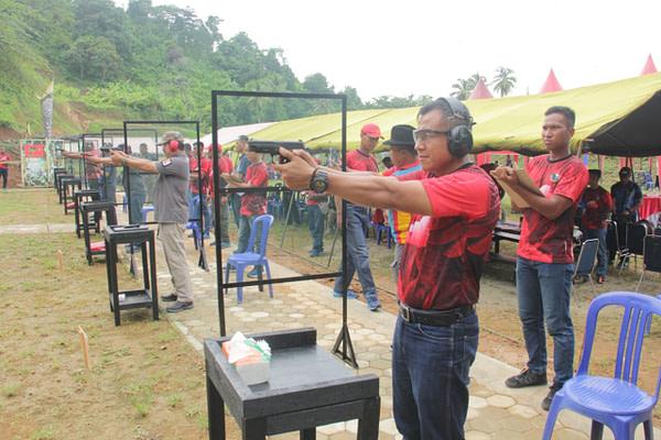 Batalyon Infanteri 7 Marinir Menggelar Lomba Menembak Terbuka Piala Danyonif 7 Marinir