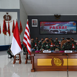 Puncak E-gladi Posko Armada Jaya XXXVIII, Pasrat Laksanakan Tugas Dengan Maksimal