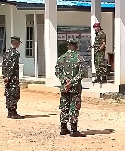 Wujudkan Perhatian Danyonmarhanlan Xii Laksanakan Jam Komandan