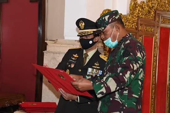 Kasum TNI Hadiri Geladi Bersih Praspa TNI-Polri