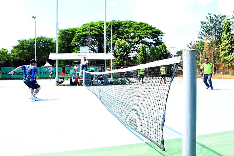 Danmenart 2 Mar Gelar Pertandingan Elsibisi Tenis Lapangan Antar Satlak
