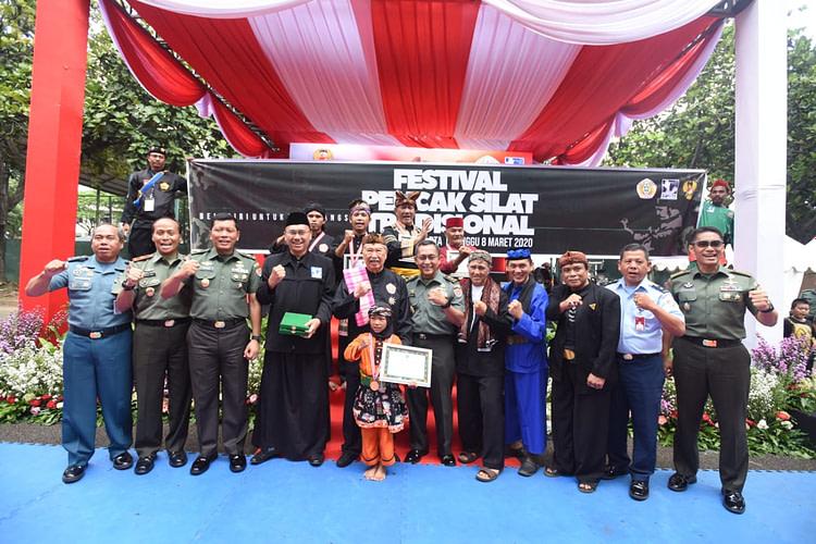 Staf Umum Teritorial Angkatan Darat Gelar Festival Pencak Silat