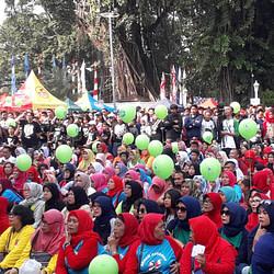 Fun Run 537 Bogor Berlari, Wujud Sinergi Awak Media Dengan Pemkot Bogor
