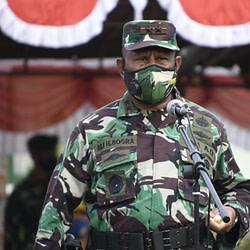 Pangdam XVIII/Kasuari Tutup Opster TNI TA 2020 di Wilayah Kodam XVIII/Kasuari