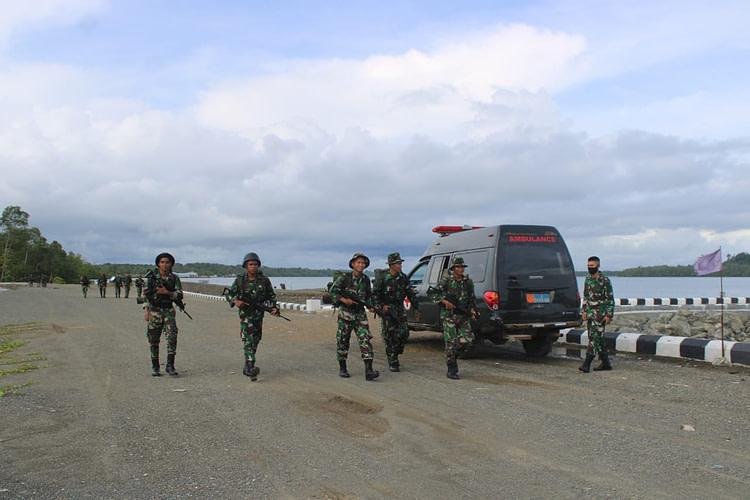 Meningkatkan Kemampuan Perorangan, Resimen Kavaleri 3 Marinir Laksanakan Hanmars