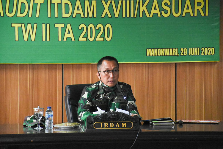 Taklimat Akhir Current Audit Itdam XVIII/Kasuari TW II TA 2020