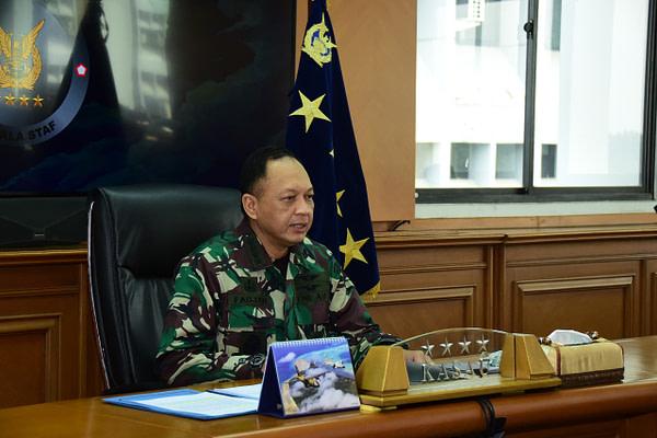 Entry Briefing Kasau, Kasau: Terwujudnya TNI AU Menjadi Angkatan Udara yang Disegani di Kawasan