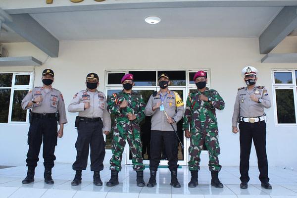 Komandan Puslatsus Terima Kunjungan Kapolres Pasuruan Kota Wujud Sinergitas TNI Polri