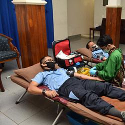 Bantu PMI DKI, Lanud Halim Sumbangkan 47 Kantong Darah