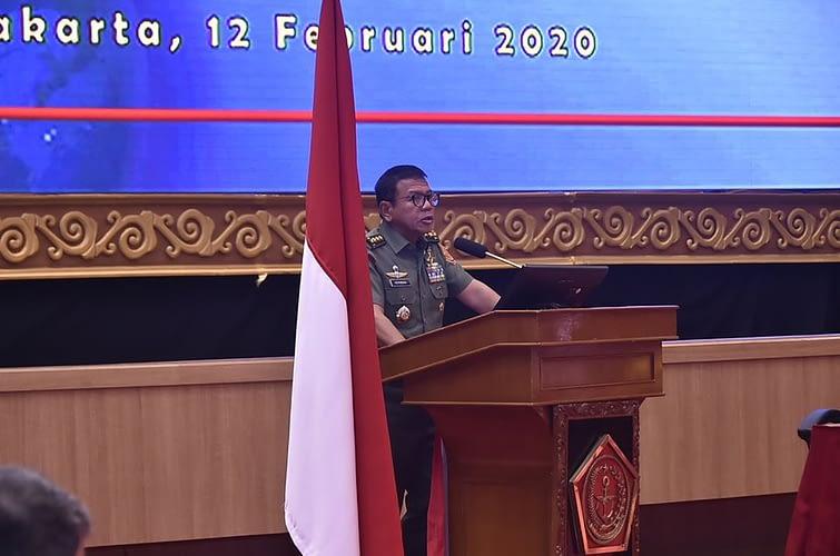 Panglima TNI Berharap Dukungan Logistik Operasi TNI Lebih Optimal