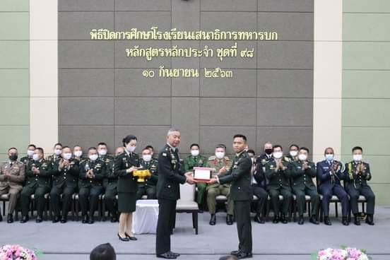 Perwira TNI Raih Predikat Terbaik Lulusan Seskoad Thailand 2020
