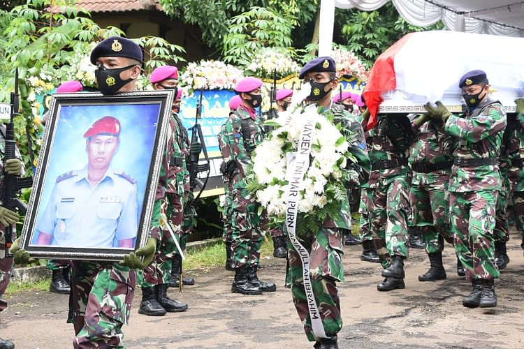 Korps Marinir TNI AL Berduka