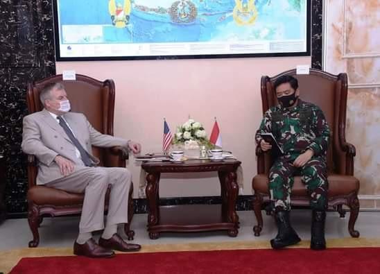 Panglima TNI Terima Kunjungan Kehormatan Delegasi Departemen Pertahanan AS