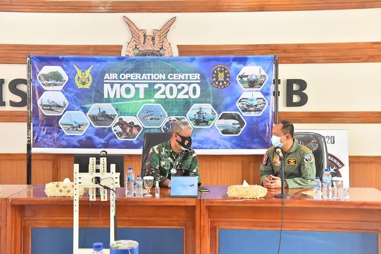 Pangkoopsau II pimpin Base Brief Hari Ke-3 Latihan MOT dan GFAC di Lanud Iswahjudi