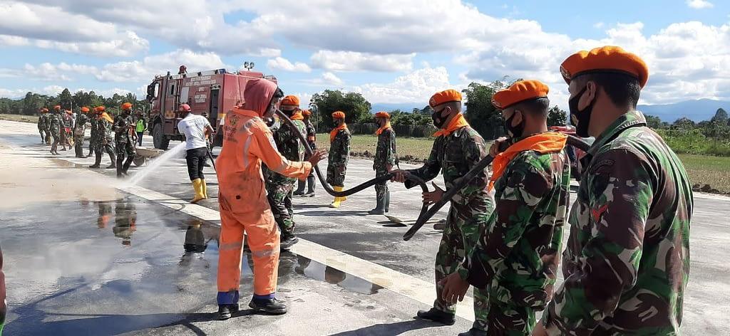 TNI AU Hadir di Bencana Masamba