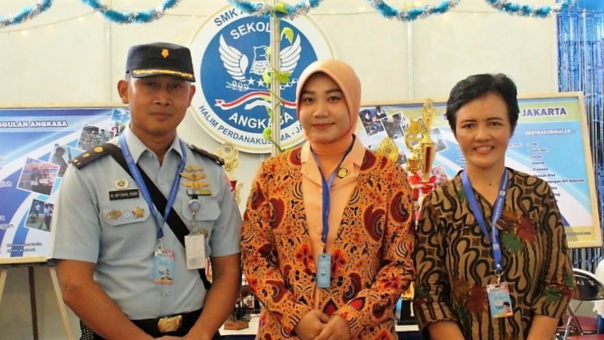 Mewujudkan Kejayaan Nusantara SMK 1 Angkasa Halim Pamerkan Hasil Karya Program Keahlian