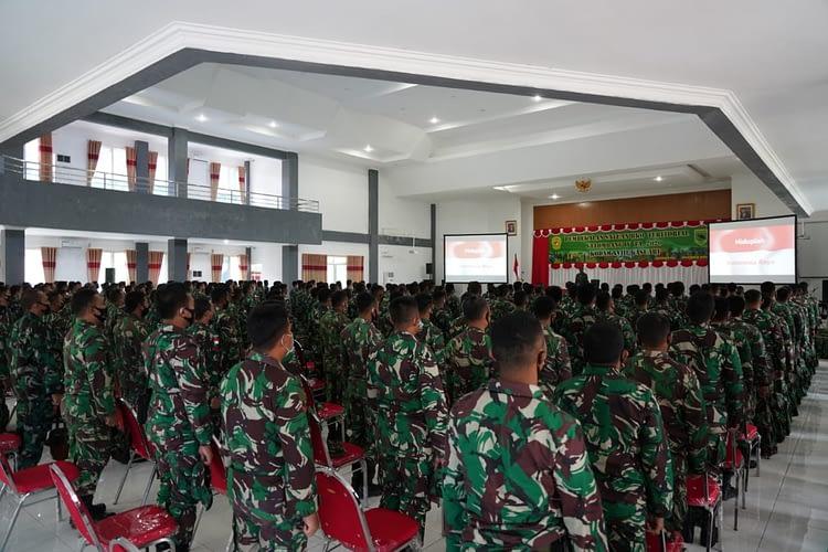 Pembekalan Personel Satuan BKO Teritorial Gel. IV Tahap II TA 2020 di Wilayah Kodam XVIII/Kasuari Ditutup