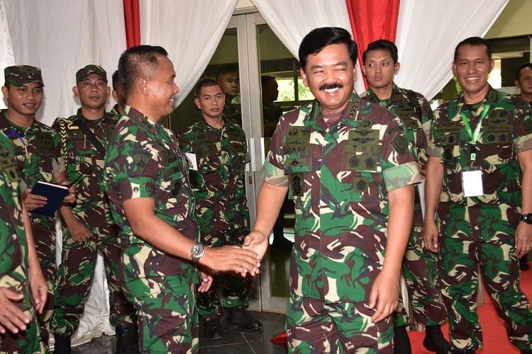 Dankormar Hadiri Rapim TNI Tahun 2020