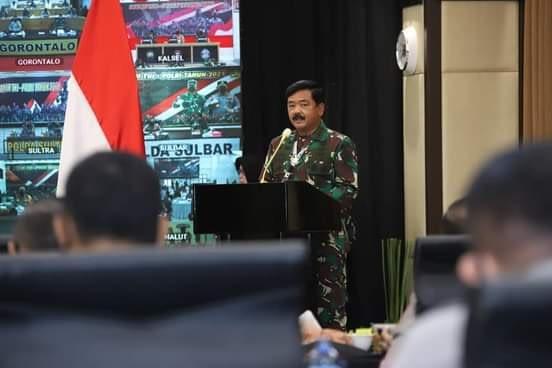 Panglima TNI : Soliditas dan Sinergi TNI-Polri Mampu Jaga Persatuan dan Kesatuan Bangsa