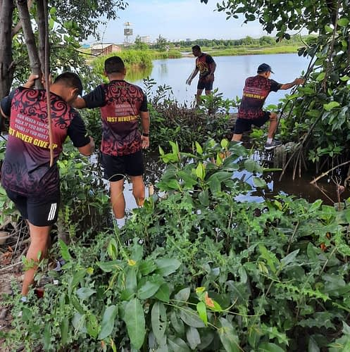 Komandan Pasmar 1 Cek Batas Terluar Kesatrian Marinir Baroto Sardadi Marunda