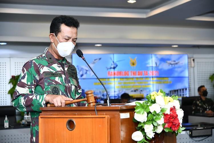 Rakorslog TNI AU 2021, Aslog Kasau : Laksanakan Pengawasan Berlapis Dalam Pelaksanaan Pemeliharaan