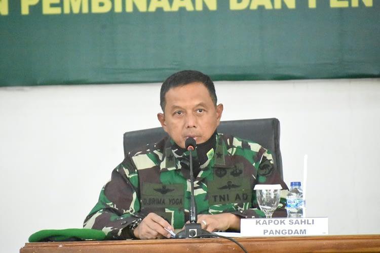 MTT Tar Hukum Fungsi Komando Kodam XVIII/Kasuari Dimulai