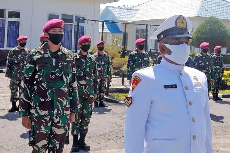Batalyon Infantri 3 Marinir Beri Apresiasi Prajurit Yang Purna Tugas