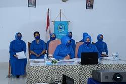 Jalin Silaturahmi, Ketua PG Kormar Vicom dengan Seluruh Ketua Jalasenastri di Jajaran Korps Marinir