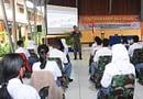 Kodam XVIII/Kasuari Gelar Penataran Kader Bela Negara TA. 2021 Sasar Siswa-Siswi SMU 1 N Manokwari