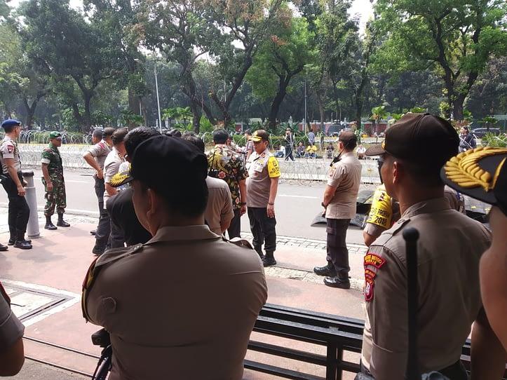 Kunjungan lapangan Bpk Kapolda Metro Jaya. Foto MC101 Jumat, 14/06/2019