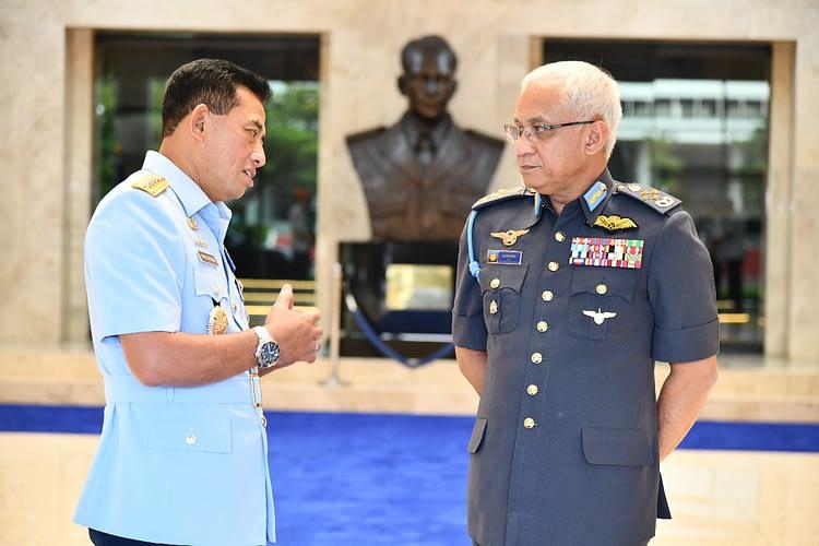 Kasau Terima Kunjungan Kehormatan Panglima Angkatan Tentera Malaysia