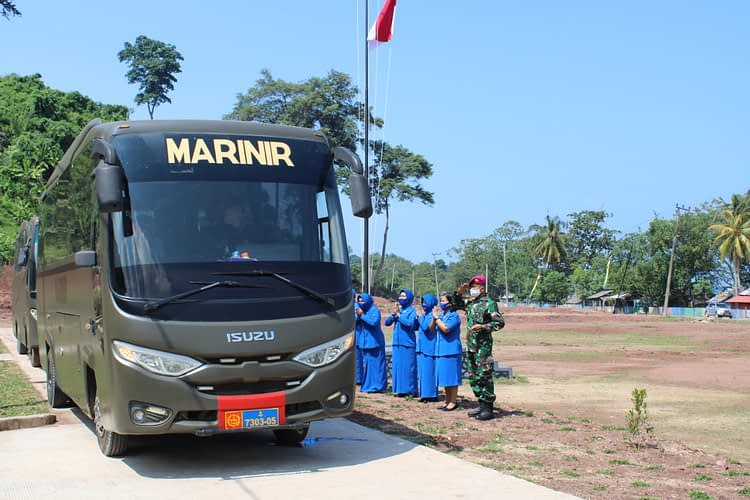 Komandan Korps Marinir Mengunjungi Puslatpurmar 8 Teluk Ratai