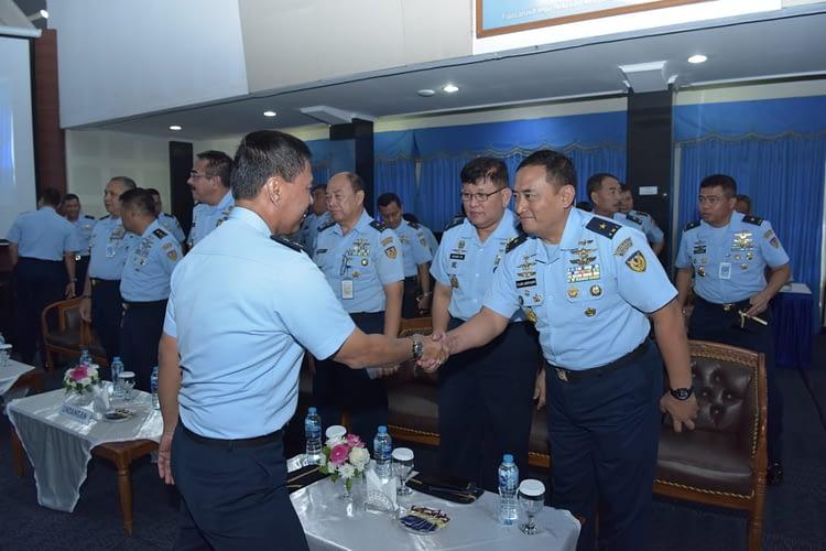 Buka Rakor Intelijen TNI AU,  Aspam Kasau Tegaskan Drone Ancaman Udara Potensial