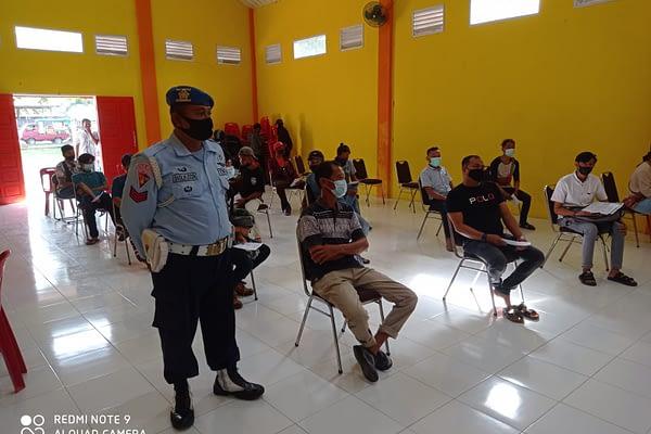 Lanud Sultan Iskandar Muda Aceh, Kembali Gelar Serbuan Vaksinasi Covid-19 Untuk Masyarakat.