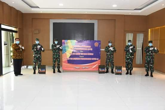 UPZ Mabes TNI Bantu Alat Pelindung Diri Untuk Rumah Sakit TNI