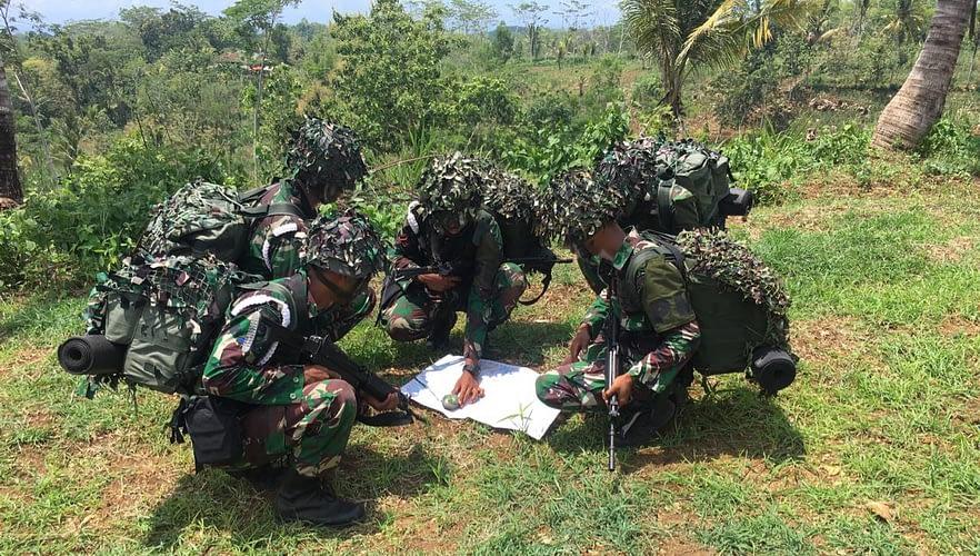 Batalyon Polisi Militer 2 Marinir Temukan Dan Amankan Obyek Vital