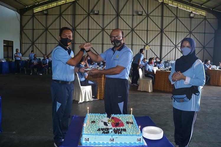 Danlanud Supadio Hadiri Syukuran Hari Jadi Skadron Udara 51