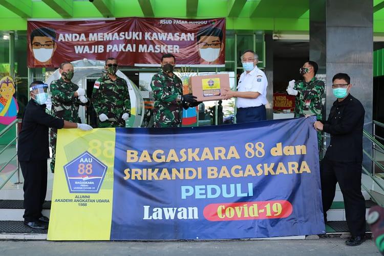 "Lawan Penyebaran Covid-19 ""Bagaskara 88"" Sumbang APD untuk RSUD Pasar Minggu"