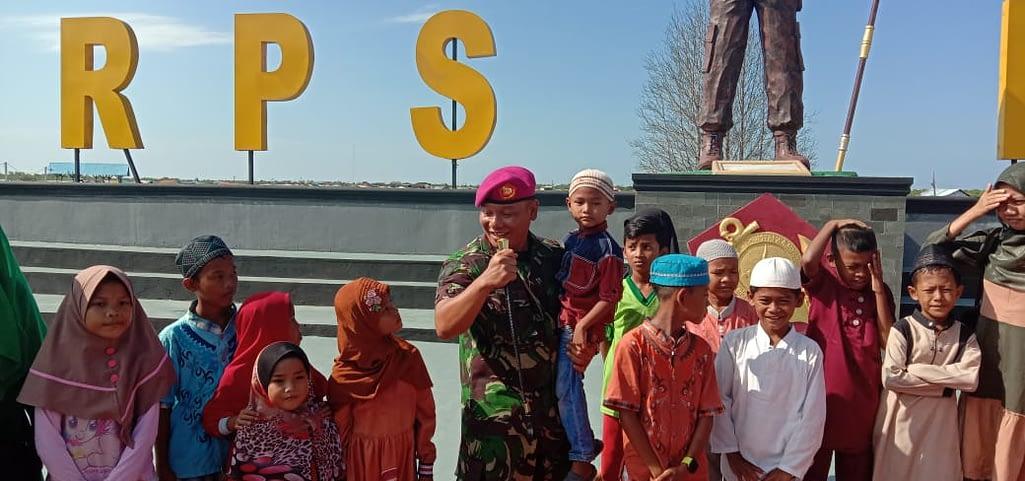 Danyonmarhanlan I Terima Kunjungan Anak Panti Asuhan