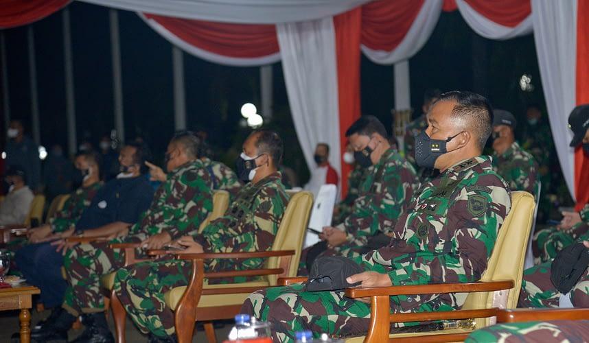 Dankormar Meninjau Latihan SAT Gultor TNI T.A. 2021
