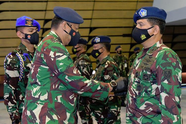 Kasau Pimpin Penggantian Tiga Pejabat TNI AU