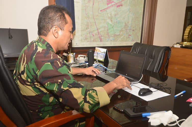 Sampaikan Exit Briefing,   Danlanud Halim: Selalu Berbuatlah yang Terbaik bagi Satuan dan TNI AU