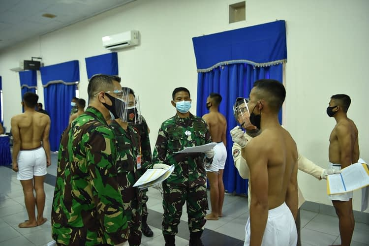 Lulus Pantukhirda, 51 Casis Tamtama Lanud Halim Siap Ikuti Seleksi Pusat